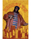 Notorious B.I.G. - Brooklyn Paper Poster