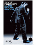 Elvis Presley - Blue Suede Shoes Paper Poster