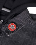 Clash - Military Logo Pin Badge