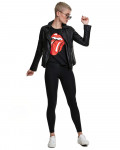 Rolling Stones - Tongue Black Women's T-Shirt