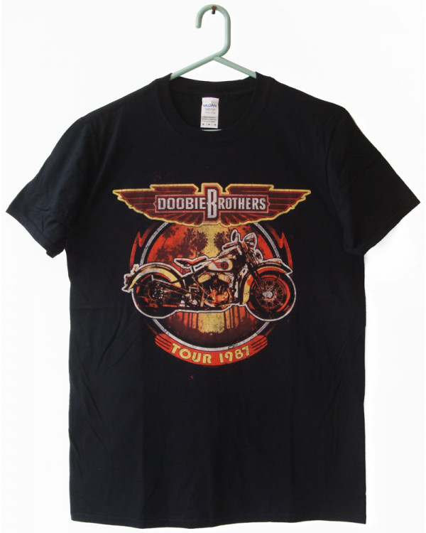 Doobie Brothers - Motorcycle Tour '87 Men's T-Shirt