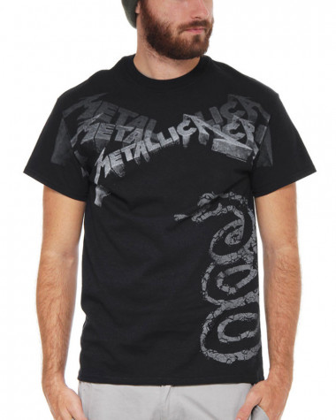 Metallica - Black Album Faded Men's T-Shirt