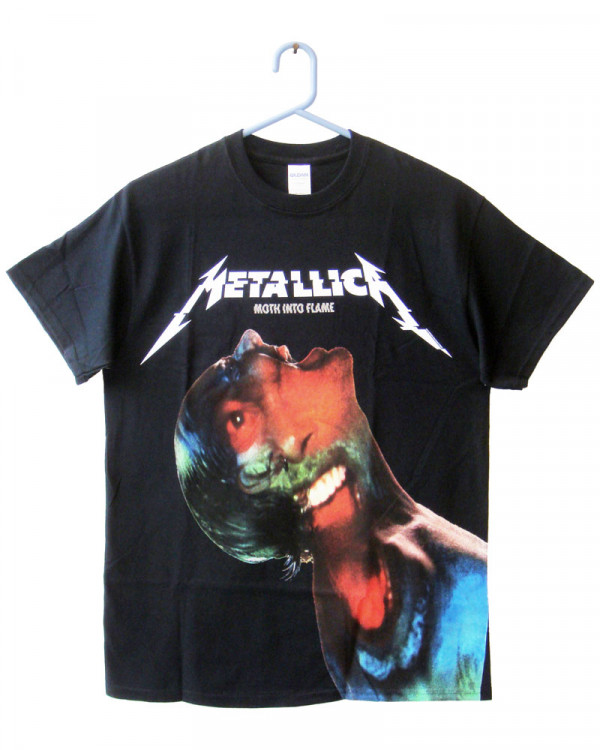 Metallica - Hardwired Moth Into Flame Jumbo Men's T-Shirt