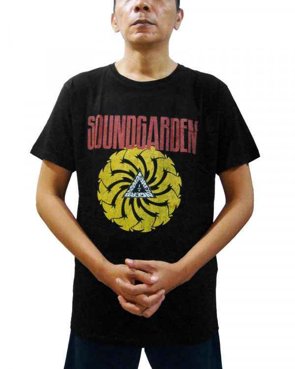 Soundgarden - Logo Black Men's T-Shirt