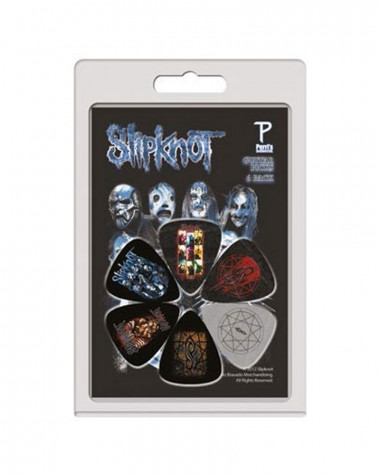 Slipknot - Masks Guitar Picks Pack