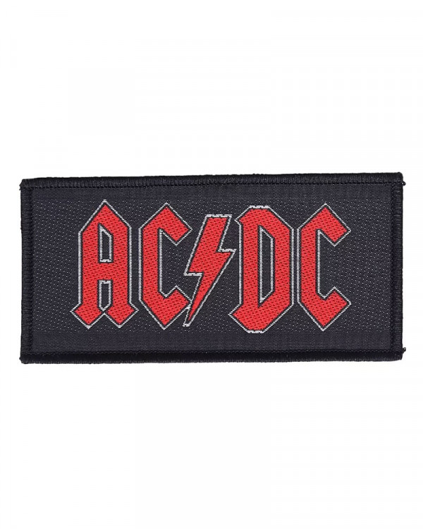 AC/DC - Red Logo Woven Patch