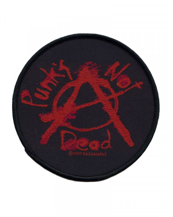 Generic - Punks Not Dead Woven Patch