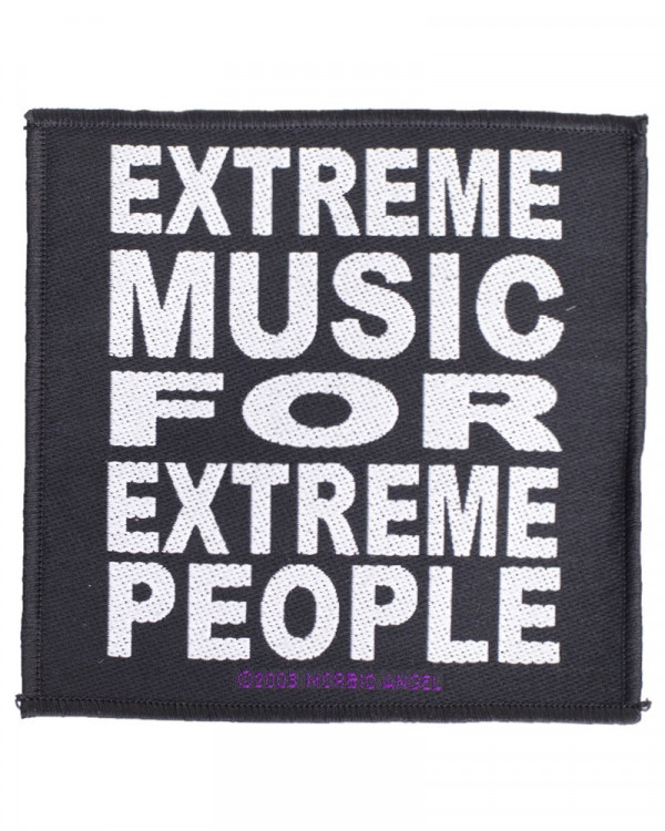 Morbid Angel - Extreme Music Woven Patch