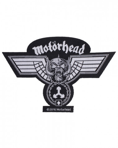 Motorhead - Hammered Cut Out Woven Patch