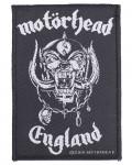 Motorhead - England Woven Patch