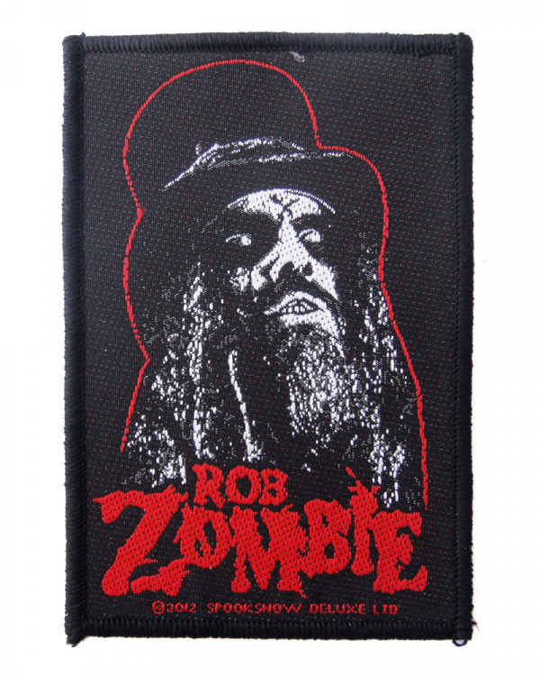 Rob Zombie - Portrait Woven Patch
