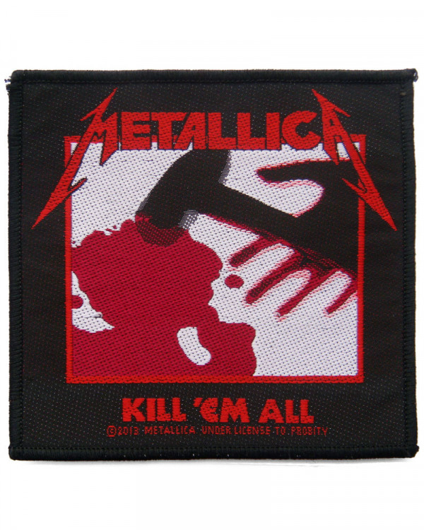 Metallica - Kill 'Em All Woven Patch