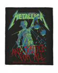 Metallica - And Justice For All Woven Patch