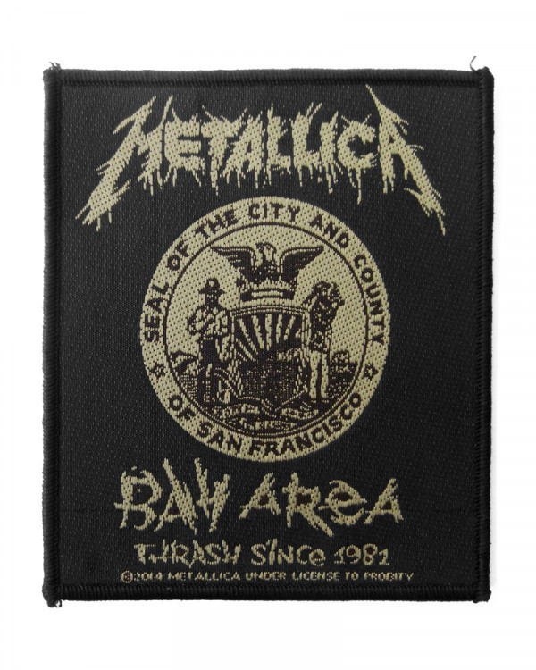 Metallica - Bay Area Thrash Woven Patch