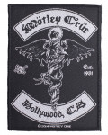 Motley Crue - Hollywood Woven Patch