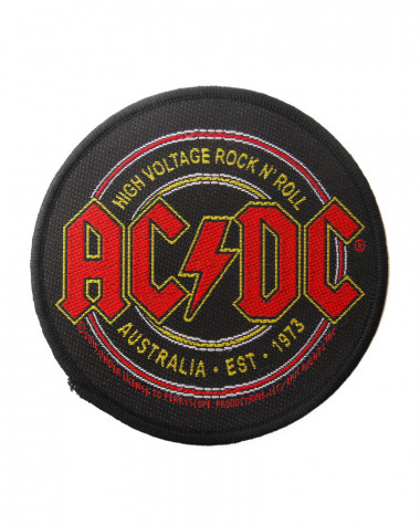 Ac/Dc - High Voltage Rock N Roll Woven Patch
