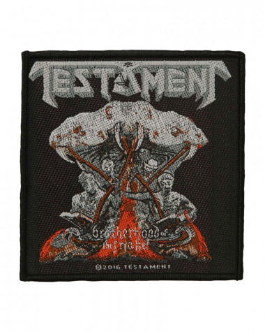 Testament - Brotherhood Of The Snake Woven Patch