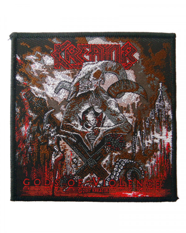 Kreator - Gods Of Violence Woven Patch