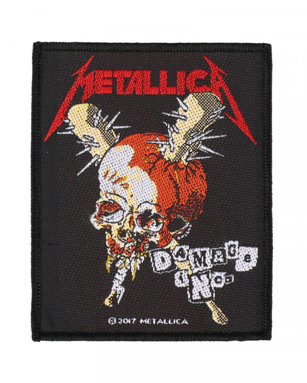 Metallica - Damage Inc. Woven Patch