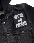 Metallica - We're So Fucked Woven Patch