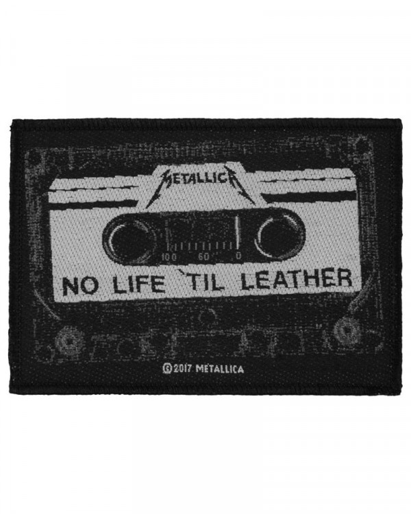 Metallica - No Life 'Till Leather Woven Patch