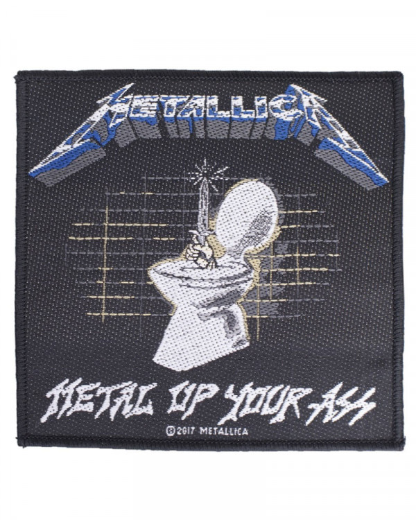 Metallica - Metal Up Your Ass Woven Patch