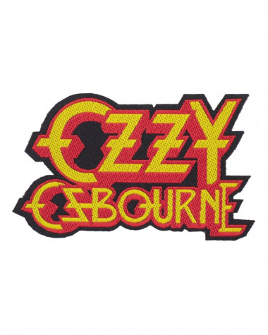Ozzy Osbourne - Logo Cut-out Woven Patch