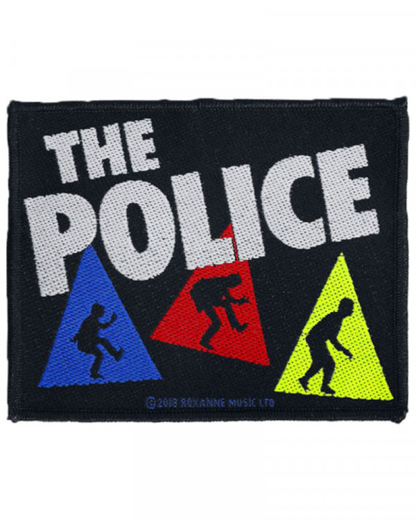 Police - Triangles Woven Patch