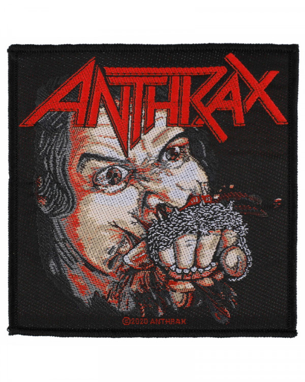 Anthrax - Fistful Of Metal Woven Patch