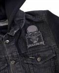 Megadeth - Vic Rattlehead Cut Out Woven Patch