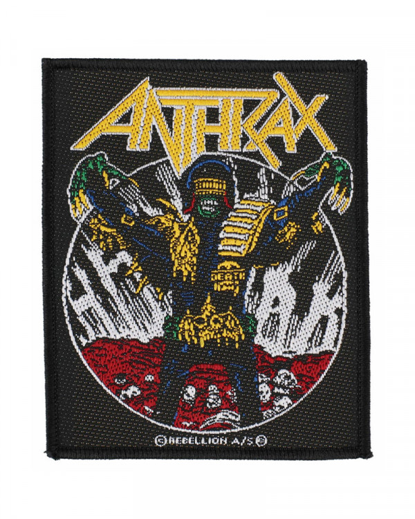 Anthrax - Judge Death Woven Patch