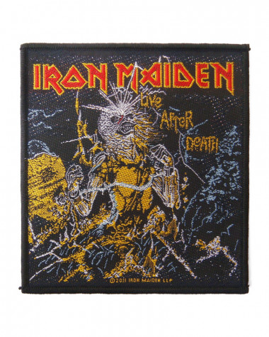 Iron Maiden - Live After Death Woven Patch