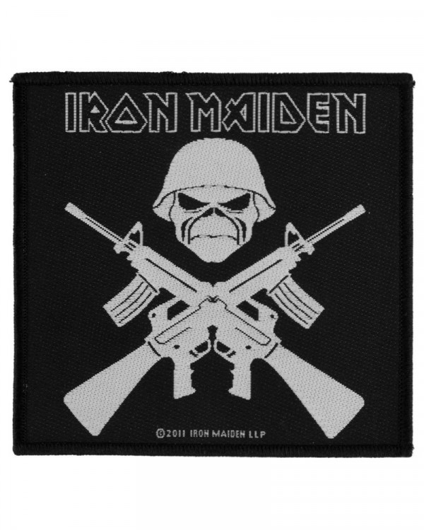 Iron Maiden - A Matter Of Life And Death Woven Patch