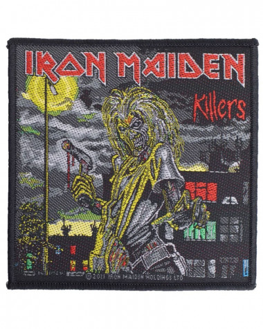 Iron Maiden - Killers Woven Patch