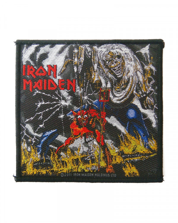 Iron Maiden - Number Of The Beast Woven Patch