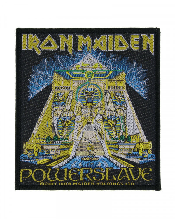 Iron Maiden - Powerslave Woven Patch