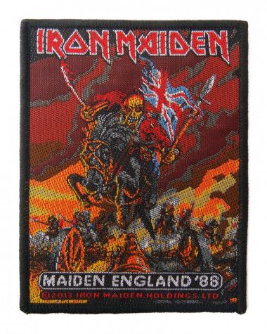 Iron Maiden - Maiden England Woven Patch