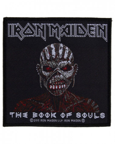 Iron Maiden - The Book Of Souls Woven Patch