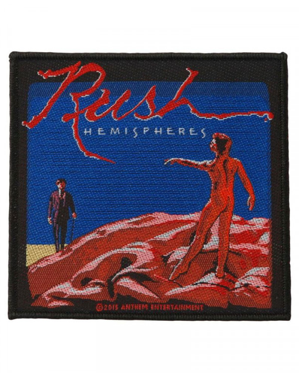 Rush - Hemisphere Woven Patch