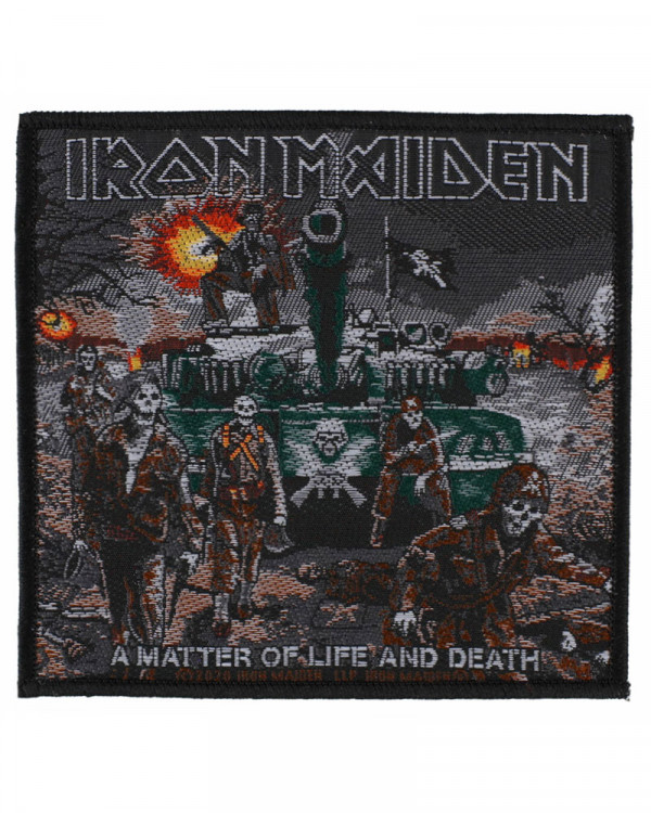 Iron Maiden - A Matter Of Life And Death 2 Woven Patch