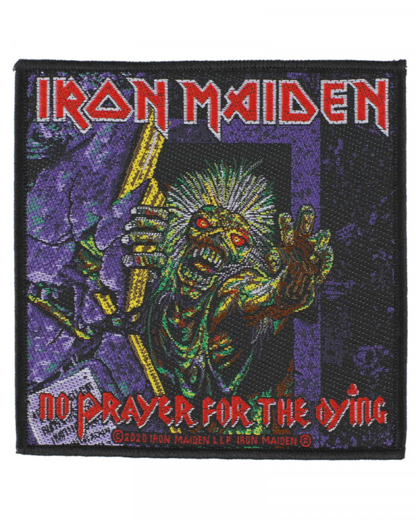 Iron Maiden - No Prayer For The Dying Woven Patch