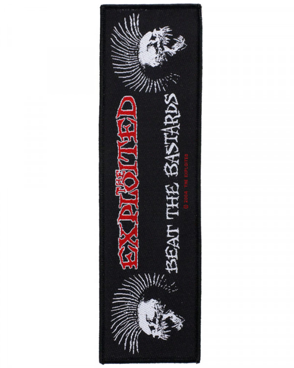 Exploited - Beat The Bastard Superstrip Woven Patch