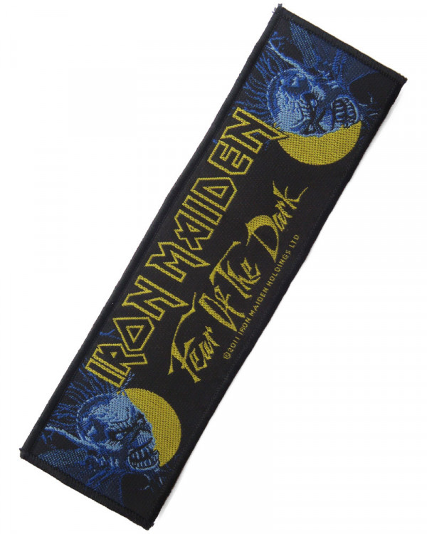Iron Maiden - Fear Of The Dark Superstrip Woven Patch
