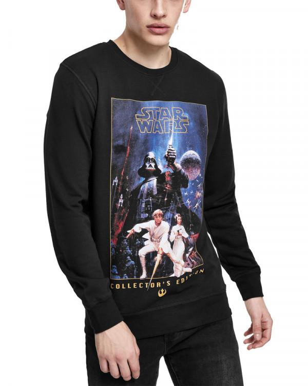 Star Wars - Poster Collector's Edition Black Men's Sweatshirt