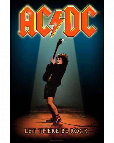 AC/DC - Let The Be Rock Flag Poster