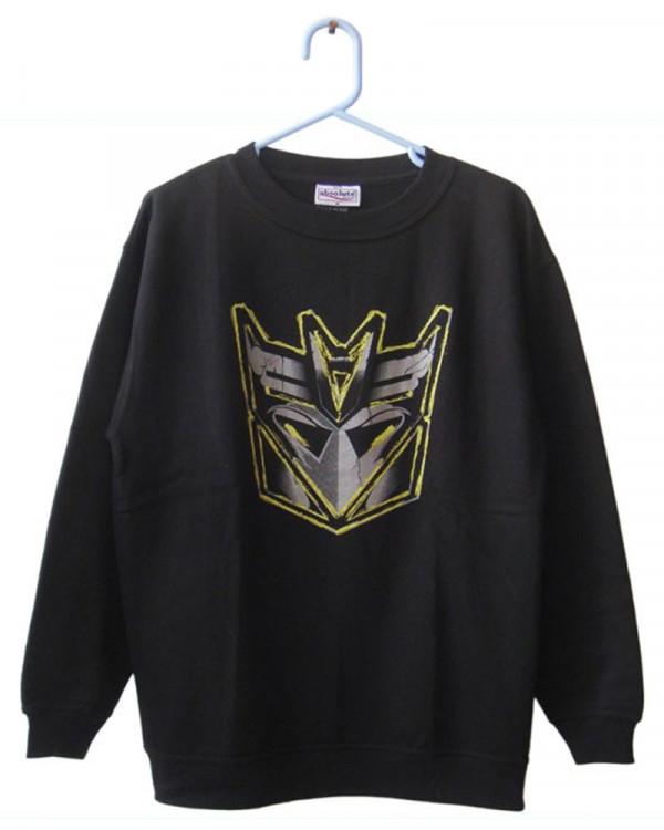 Transformer - Decepticon Logo Black Men's Sweatshirt