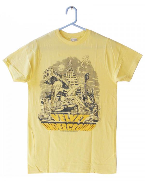 Velvet Underground - NYC Yellow Men's T-Shirt