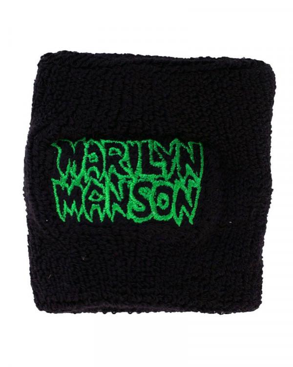 Marilyn Manson - Logo Cloth Wristband