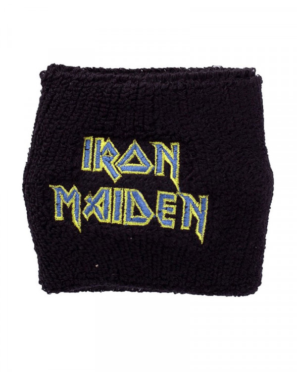 Iron Maiden - Logo Flight Cloth Wristband