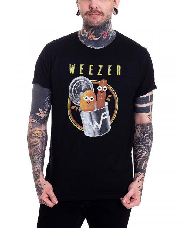 Weezer - Pork & Beans Black Men's T-Shirt